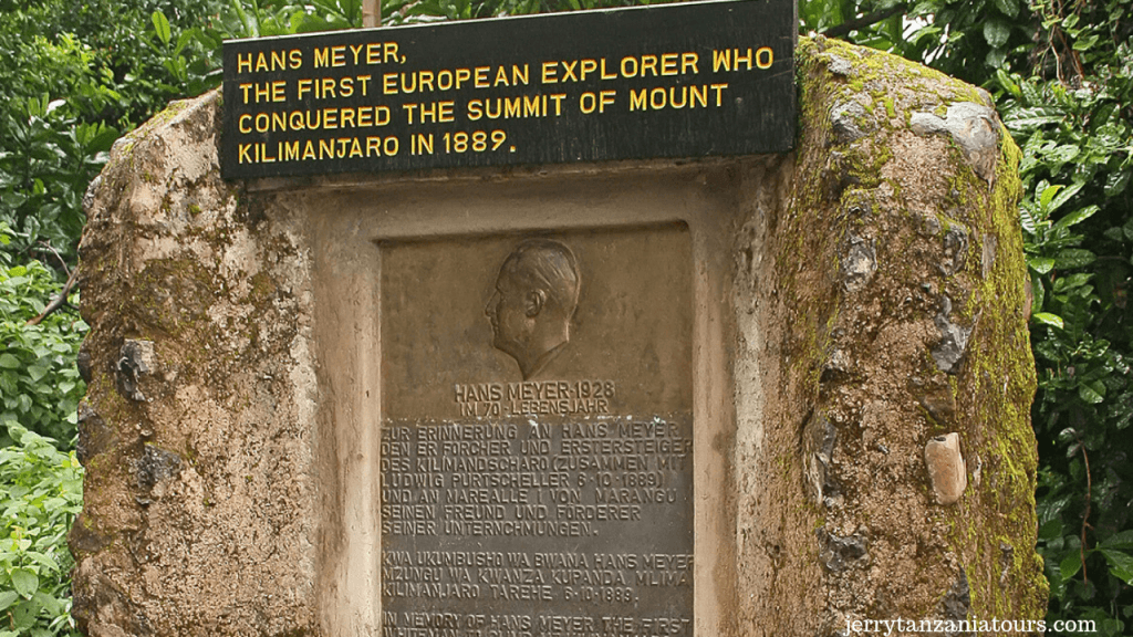 Mount Kilimanjaro Facts, Hans Meyer
