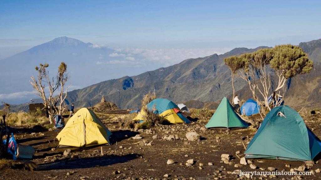 Mount Kilimanjaro camps on Kilimanjaro Facts