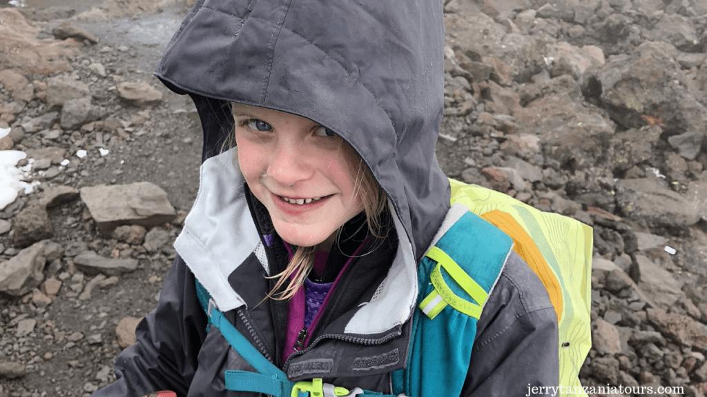 Youngest Kilimanjaro climber