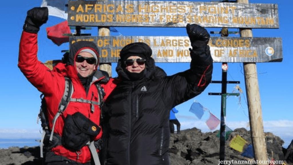 oldest Kilimanjaro Climber