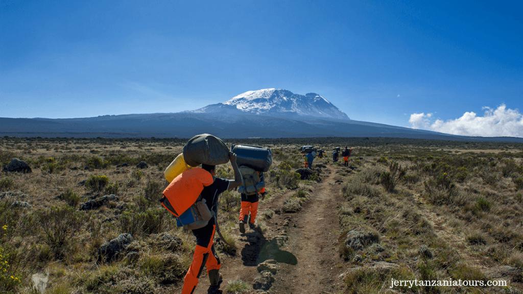 Kilimanjaro Porter Carrying Instruments