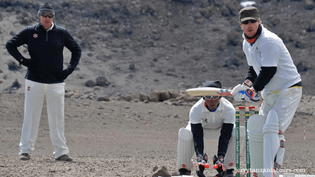cricket Match on Kilimanjaro
