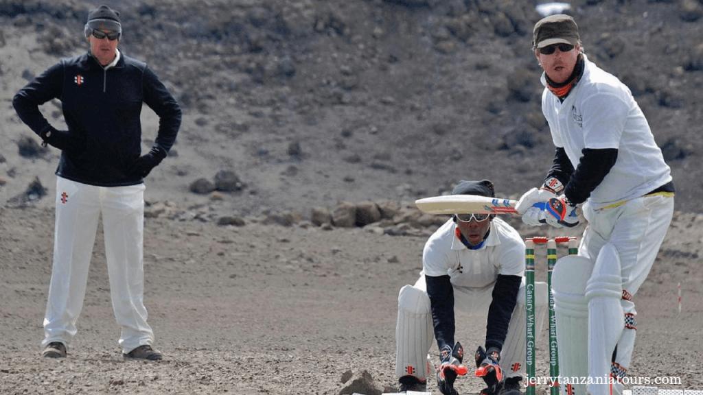 cricket Match on Kilimanjaro