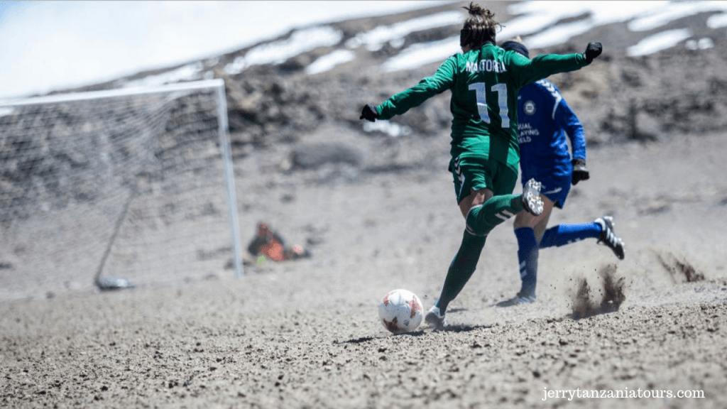 Soccer Match on Kilimanjaro