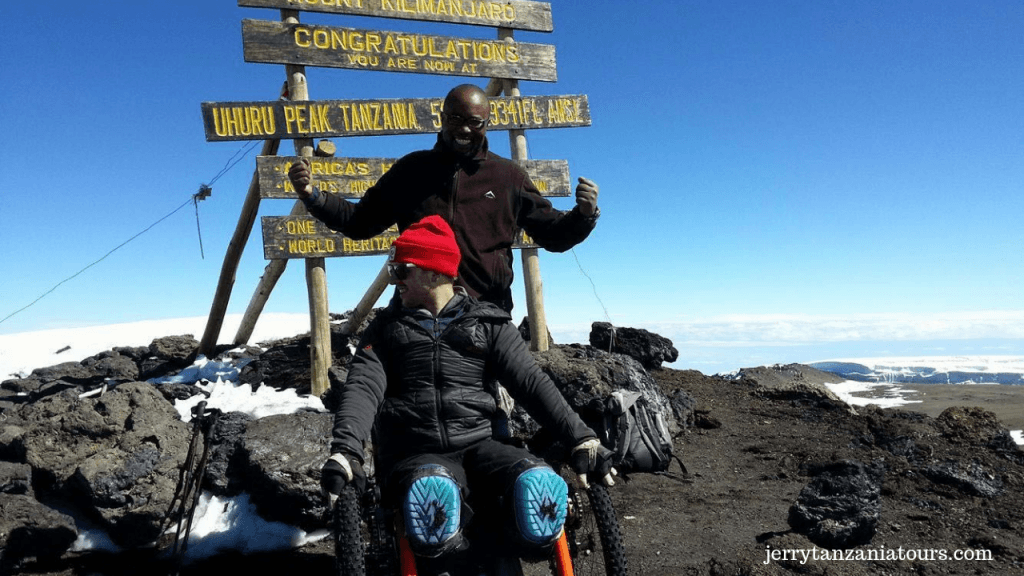 Mount Kilimanjaro, The disable Person To climb Kilimanjaro Facts:
