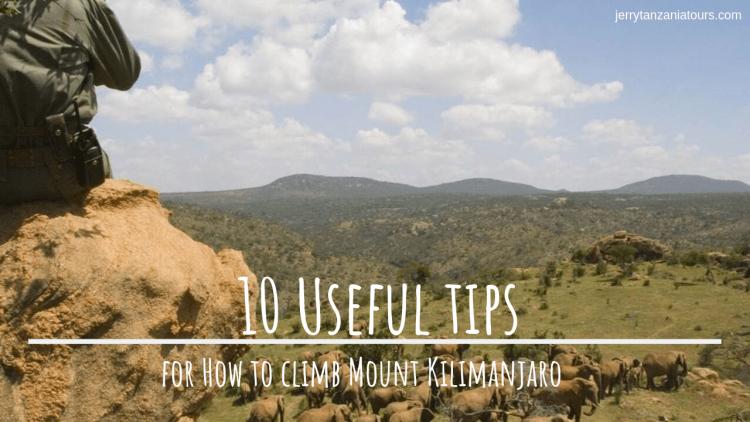 kilimanjaro Climbing Tips