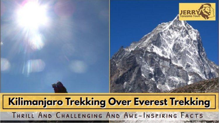 mount kilimanjaro vs Mount everest