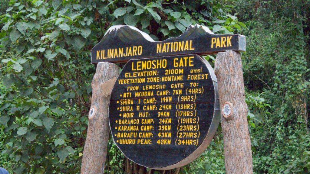 Lemosho Route Trekking