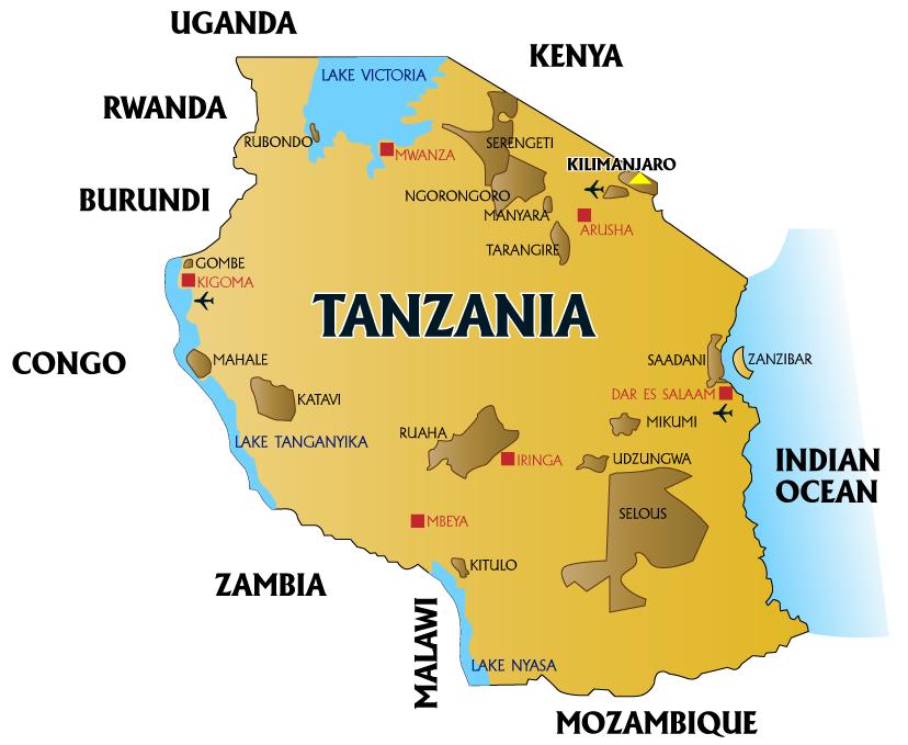 Geography Of Tanzania