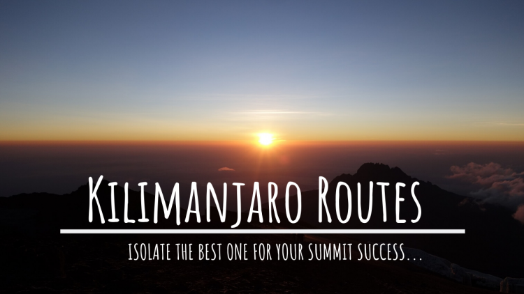 best kilimanjaro routes