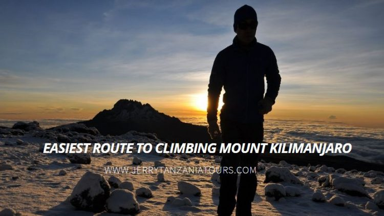 Easiest Route To Climbing Mount Kilimanjaro