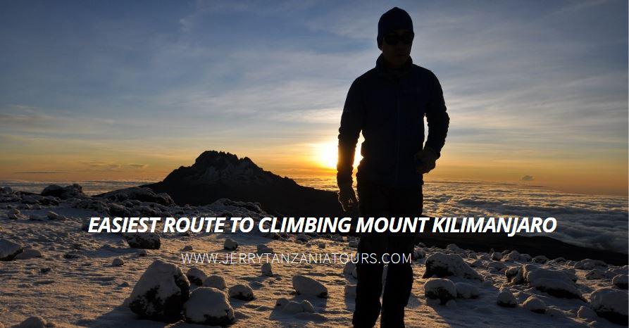 Easiest Route To Climbing Mount Kilimanjaro