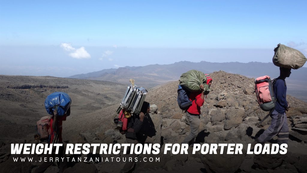 Kilimanjaro Weight Restrictions for Porter Loads