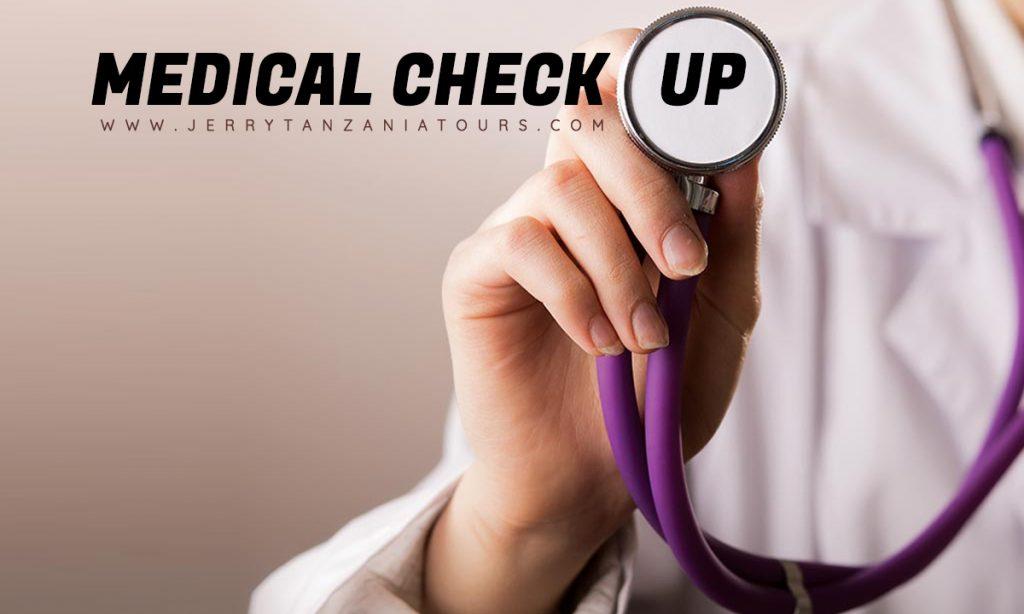 Kilimanjaro Medical Check up