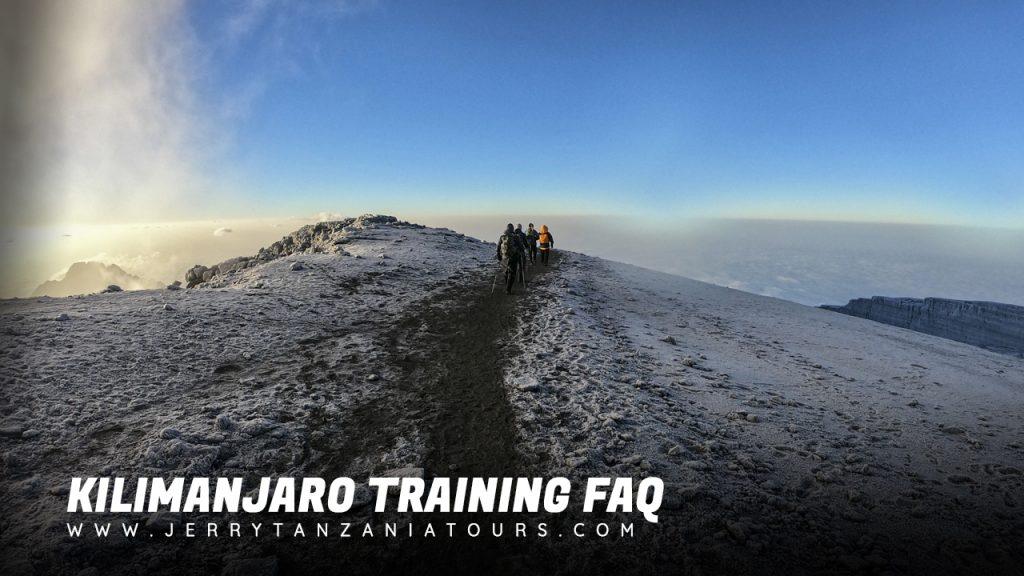 Kilimanjaro Training FAQ