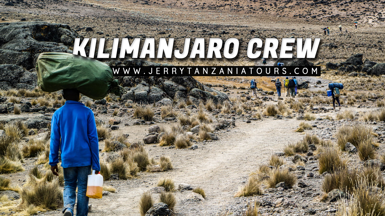 Kilimanjaro Crew – Who Are The Mountain Crew Accompanying You Throughout The Climb?