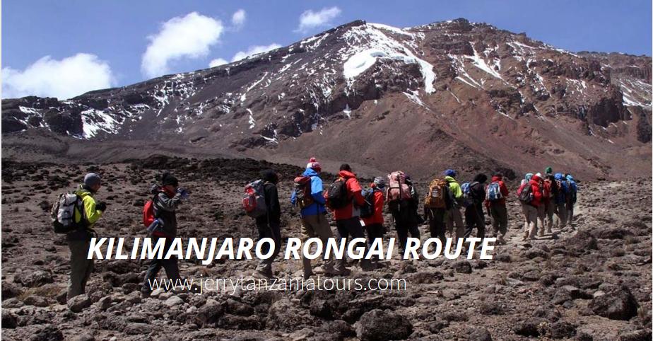 Kilimanjaro Rongai Route
