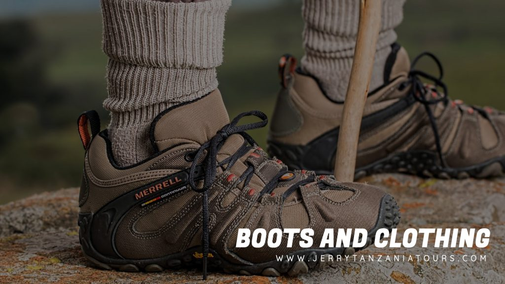 Kilimanjaro Boots & Clothing