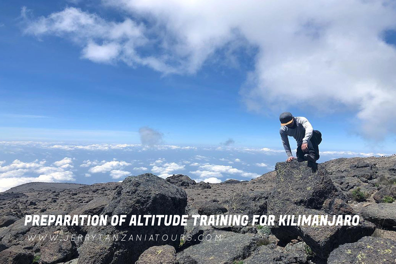 Preparation of Altitude Training For Kilimanjaro