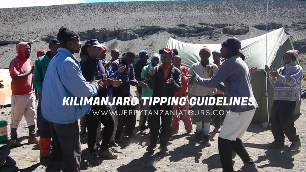 Kilimanjaro Tipping Guidelines