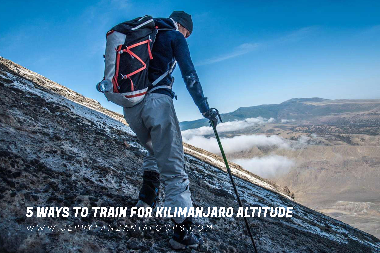 5 Ways to Train for Kilimanjaro Altitude