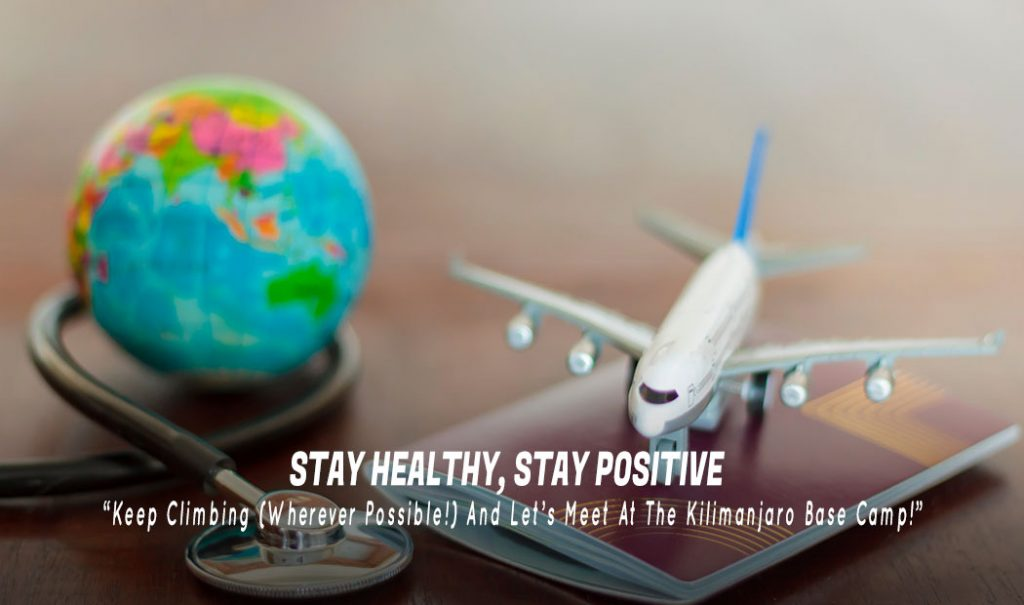 Stay Healthy, Stay Positive & Keep Climbing