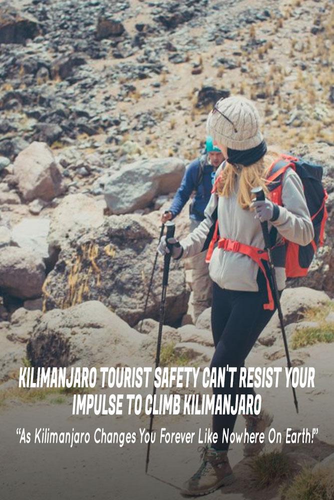 Kilimanjaro Tourist Safety