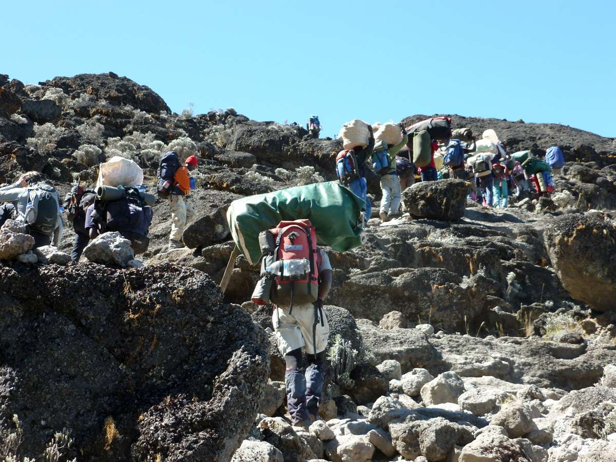 From Jerry Tanzania Tours Corner To Help Kilimanjaro Porters