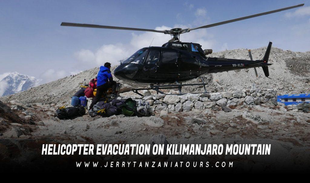 Helicopter Evacuation on Kilimanjaro Mountain