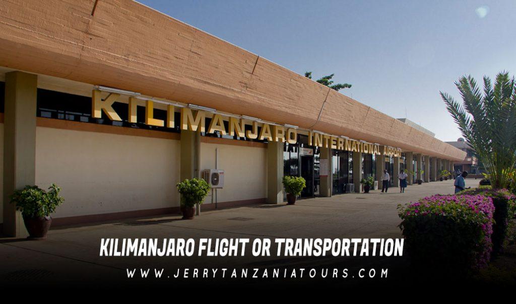 Kilimanjaro Flight or Transportation