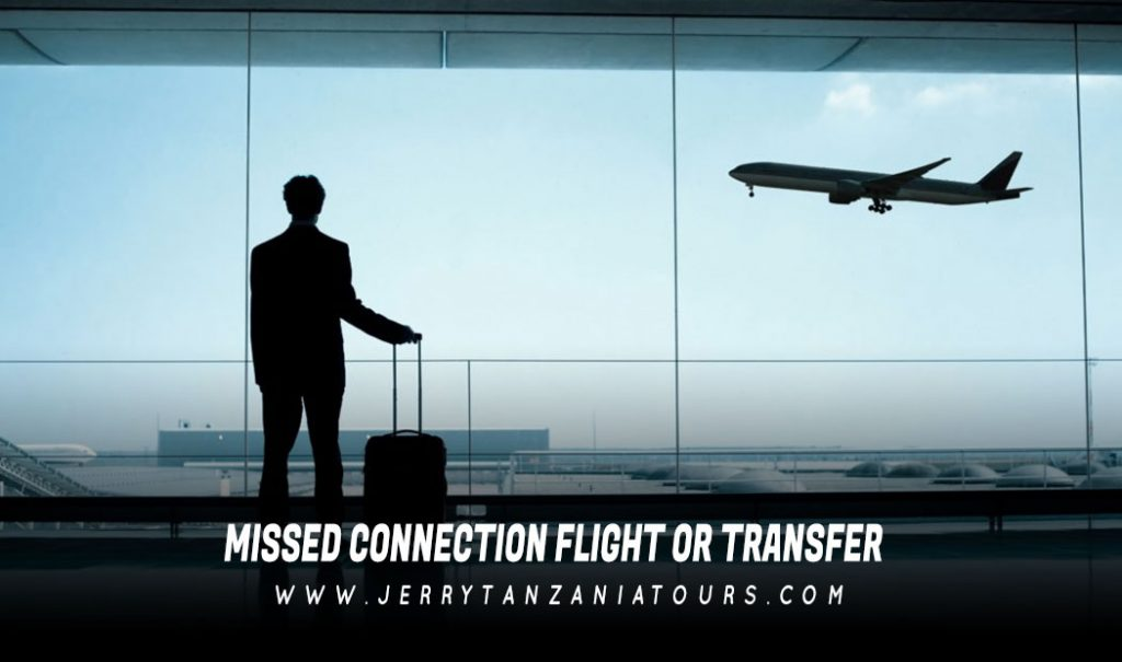 Missed Connection Flight or Transfer