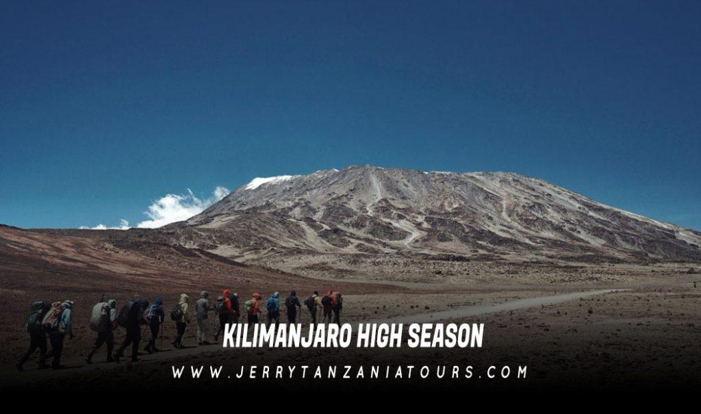 Kilimanjaro High Season