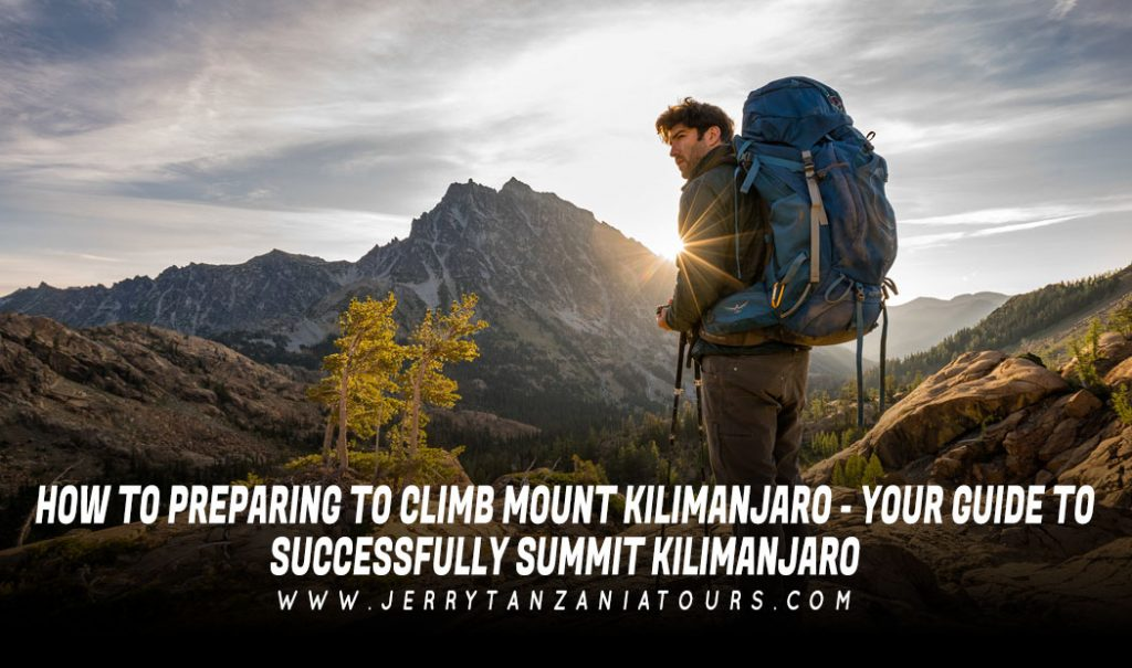 Preparing To Climb Mount Kilimanjaro
