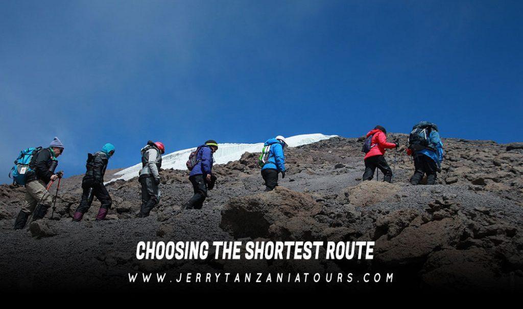Choosing The Shortest Route