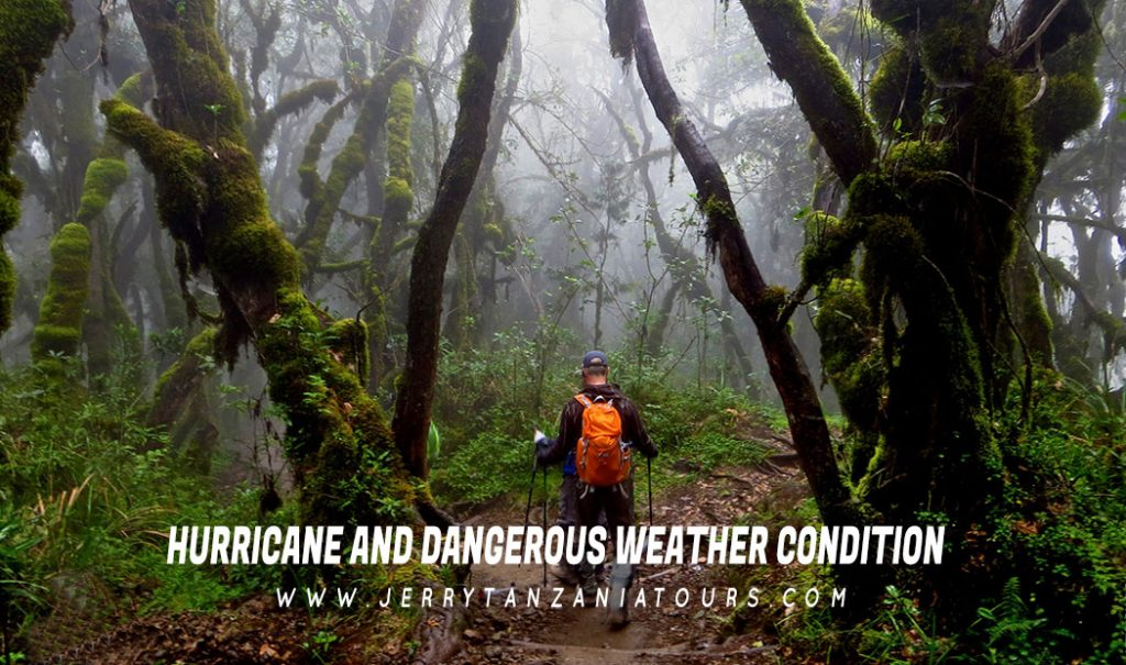 Hurricane And Dangerous Weather Condition