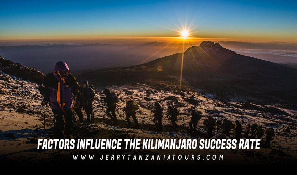Factors Influence The Kilimanjaro Success Rate