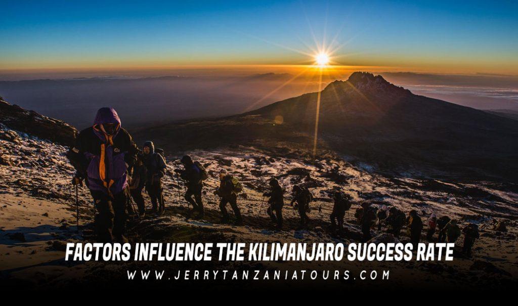 Factors Influence The Kilimanjaro Success Rate