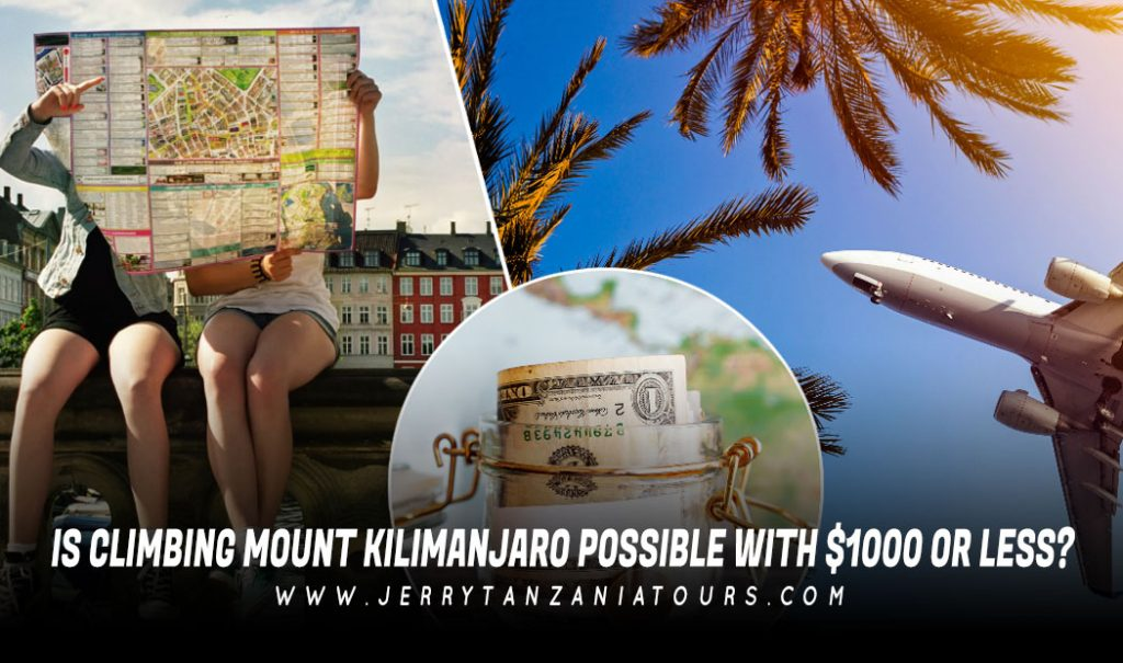 Climb Kilimanjaro Cost In 1000$