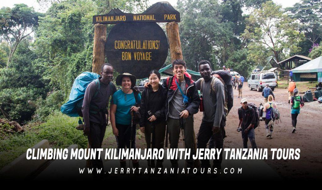 Climbing Mount Kilimanjaro With Jerry Tanzania Tours