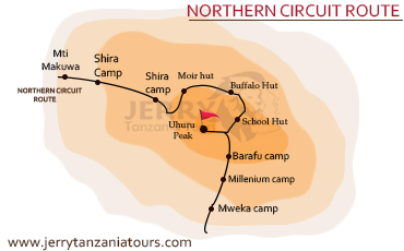 Northern Circuit Route