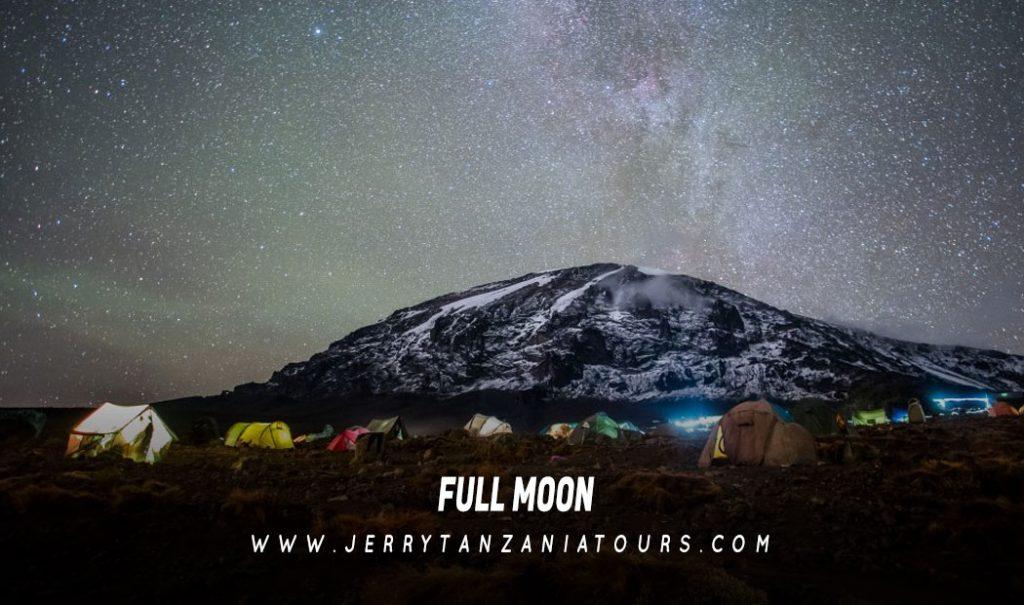 Kilimanjaro Full-Moon