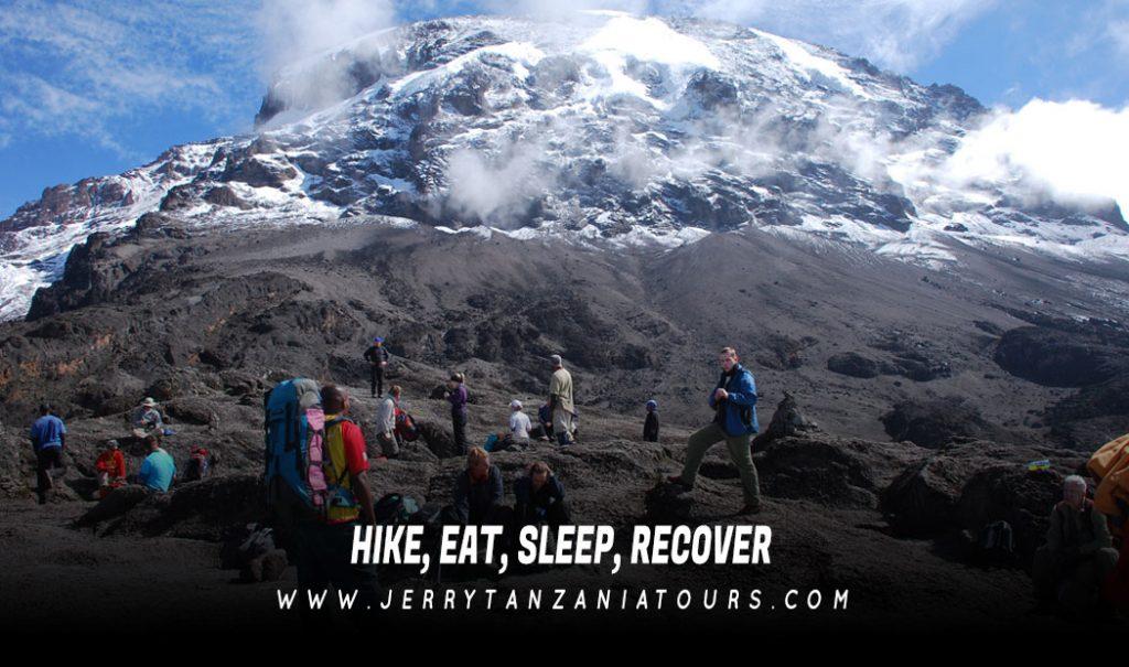 HIKE-EAT-SLEEP-RECOVER