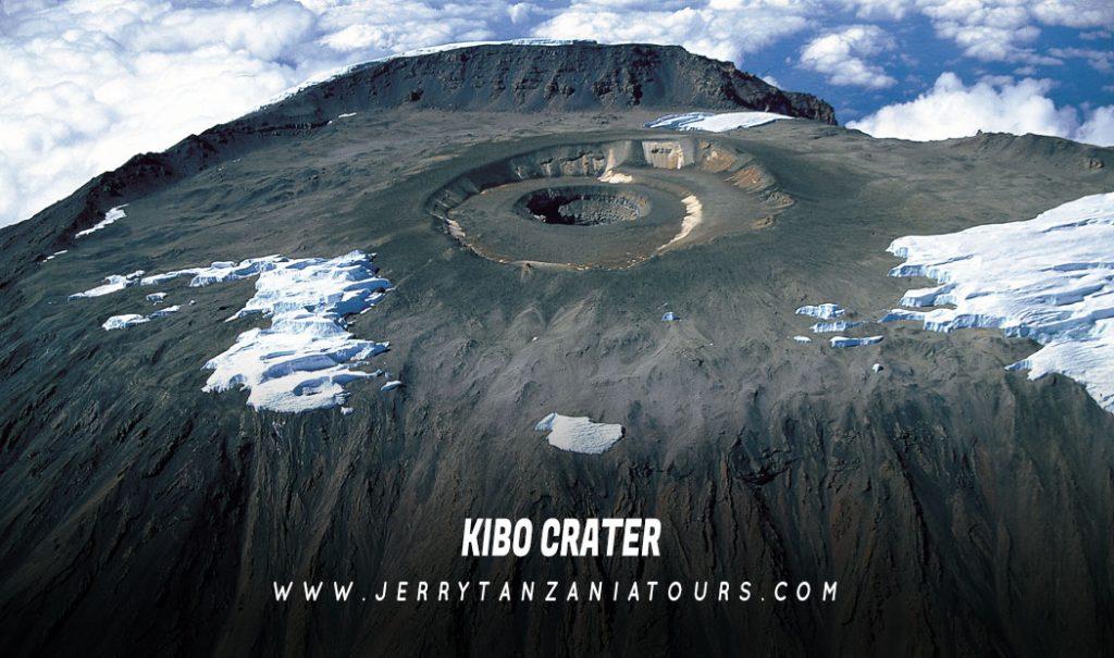 Kibo-Crater