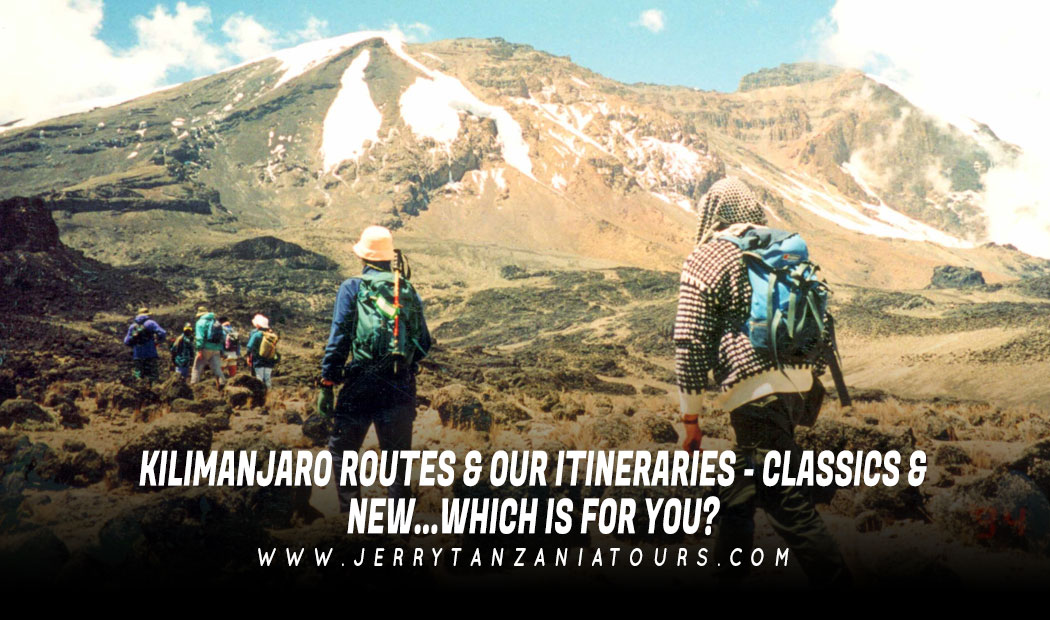 KILIMANJARO ROUTES & OUR ITINERARIES – CLASSICS & NEW…WHICH IS FOR YOU?