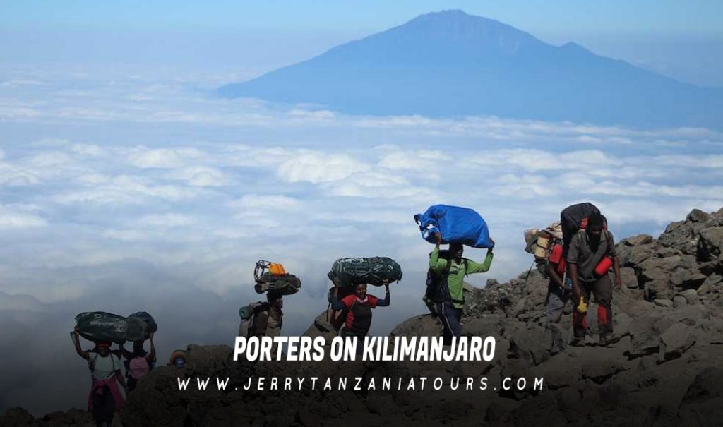 Porters-On-Kilimanjaro