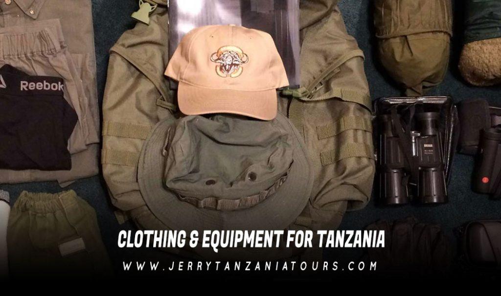 Clothing & Equipment For Tanzania