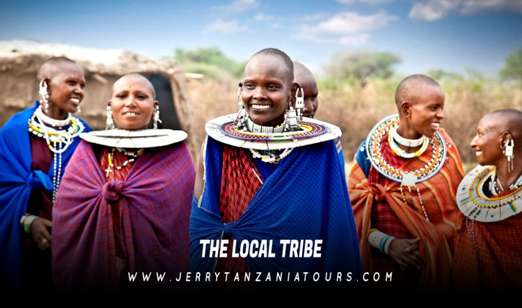 Local Tribe In Tanzania