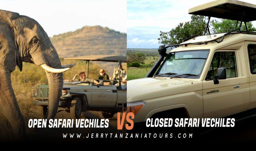 Tanzania Safari Vehicles