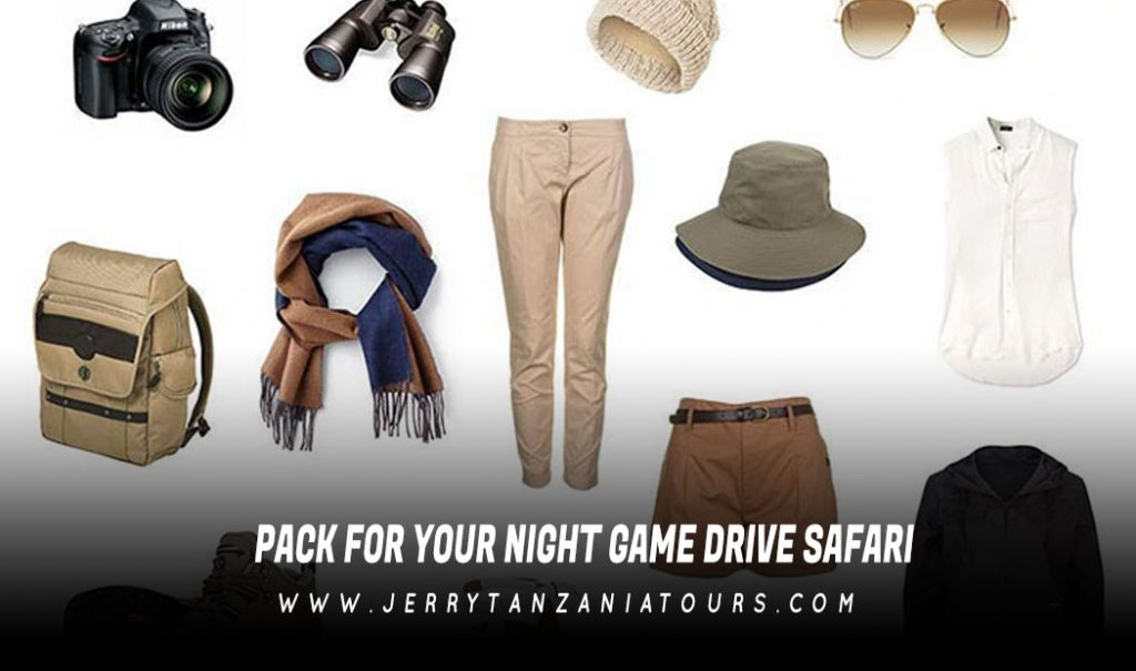Pack For Your Night Game Drive Safari