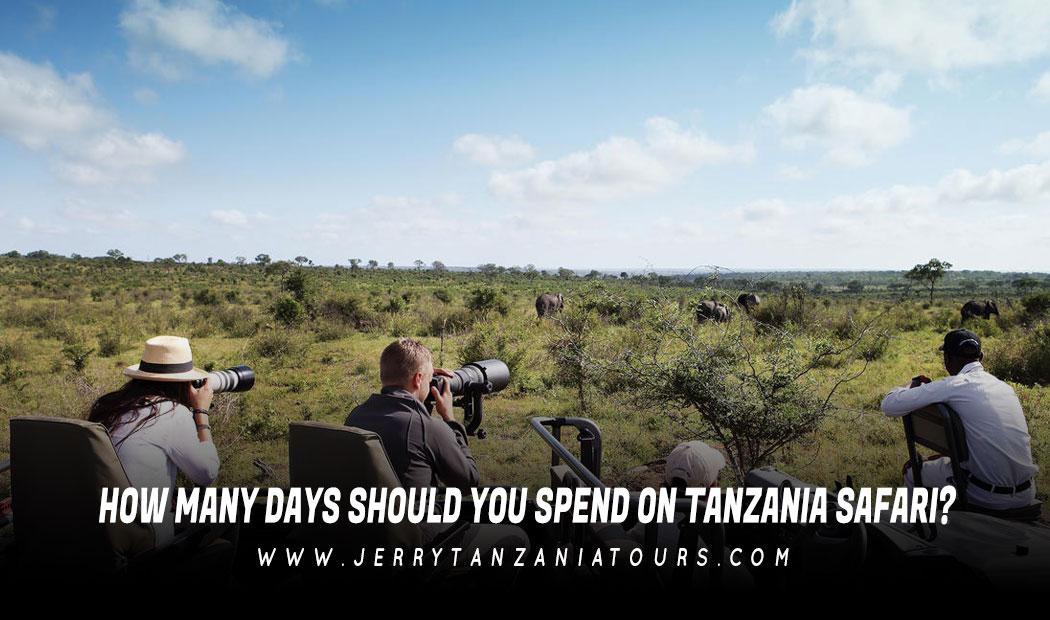 How Many Days Should You Spend On Tanzania Safari?